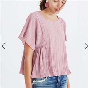 Madewell micropleated top